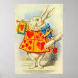 The White Rabbit Full Colour Poster