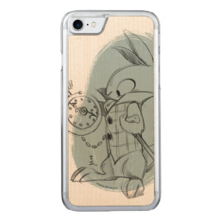 The White Rabbit iPhone Carved iPhone 7 Case