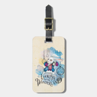 The White Rabbit | Looking for Wonderland 3 Bag Tag
