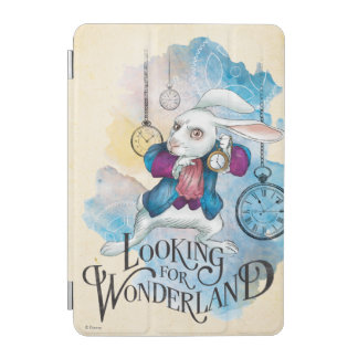The White Rabbit | Looking for Wonderland iPad Mini Cover