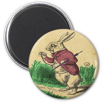 The White Rabbit Magnet