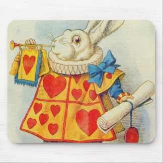 The White Rabbit Mouse Pad