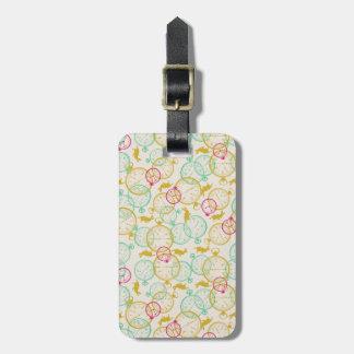 The White Rabbit Pattern Bag Tag