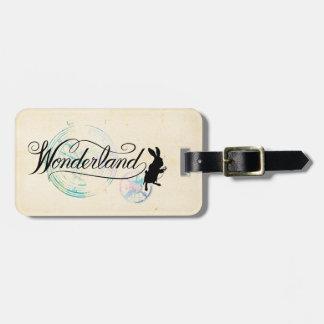 The White Rabbit | Wonderland 2 Luggage Tag