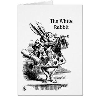 The White Rabbit's  CC0241 Greeting Card