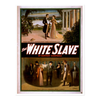 The White Slave by Bartley Campbell 1911 Postcard
