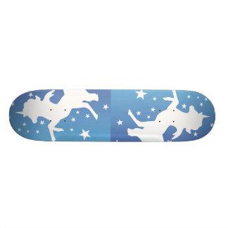 """"""" The White Unicorns """" Skateboard Decks"""