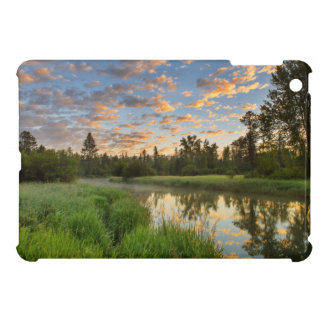 The Whitefish River with nice sunrise clouds iPad Mini Cover
