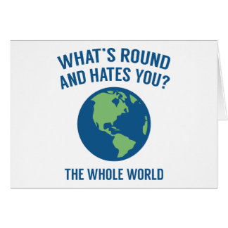 The Whole World Card