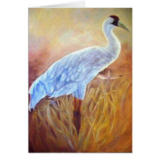 The Whooping Crane Blank Cards