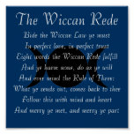 The Wiccan Rede (short version) Poster