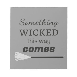 The Wicked Notepad
