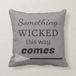 The Wicked Throw Pillow