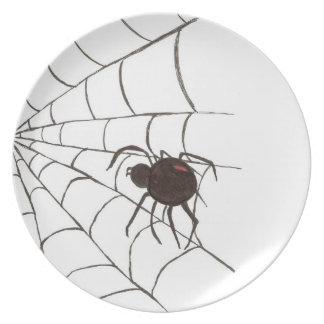 The Wicked Web Plate
