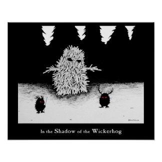 The Wicker Hog Poster