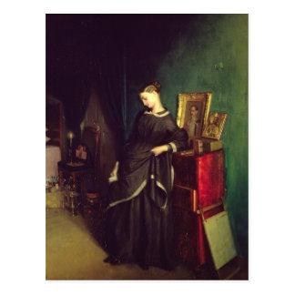 The Widow, c.1850 Postcard