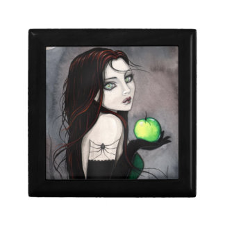 The Widow Gothic Fantasy Trinket Box