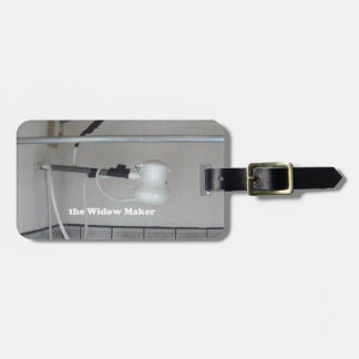 the widow maker luggage tag