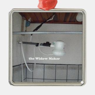 the widow maker metal ornament