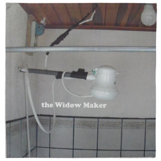 the widow maker napkin