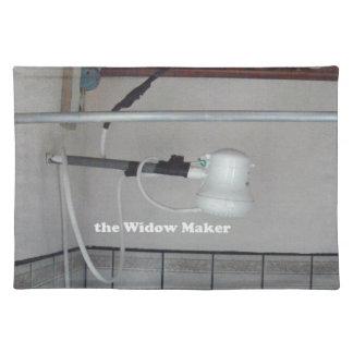 the widow maker placemat