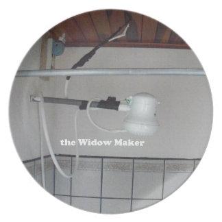 the widow maker plate