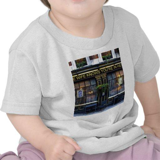 The wife Knows Pub Tshirts