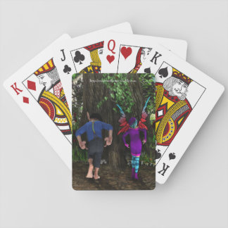 The Wiggle Bum Dance Playing Cards