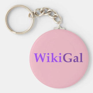 The Wikigal Keychain