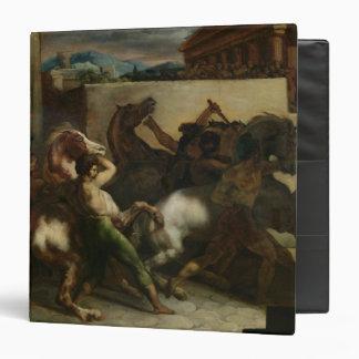 The Wild Horse Race at Rome, c.1817 Vinyl Binder