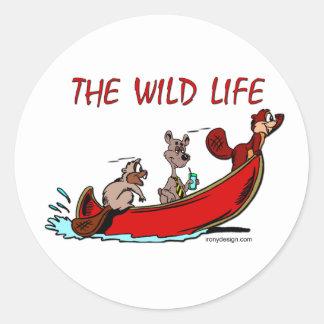 The Wild Life Stickers
