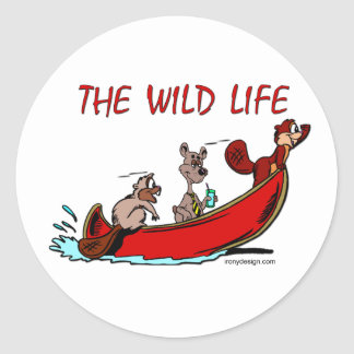 The Wild Life Stickers