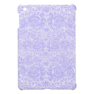 The wild lilac floral vines iPad mini cover
