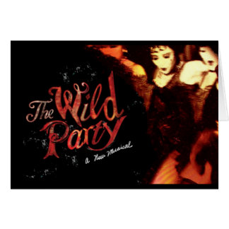 The Wild Party Card