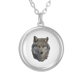 THE WILD STARE SILVER PLATED NECKLACE