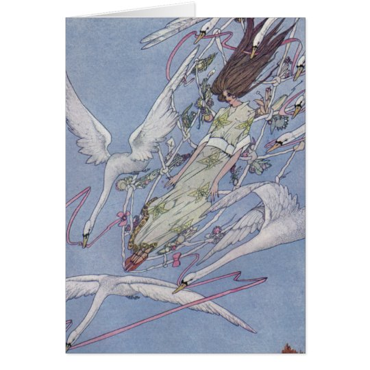 The Wild Swans Greeting Card