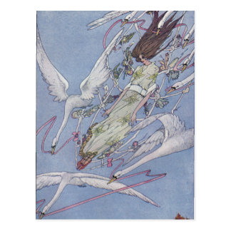 The Wild Swans Postcard