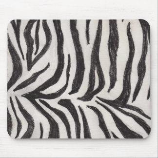 The Wild Zebra Mouse Pad
