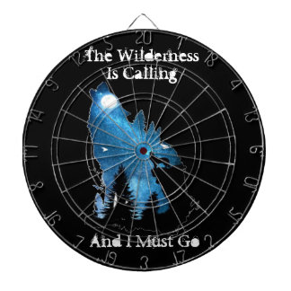 The Wilderness Is Calling For Him Dartboard