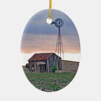 The Windmill Ceramic Ornament