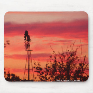The Windmill Mouse Pad