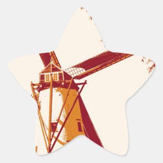 The Windmill Sticker