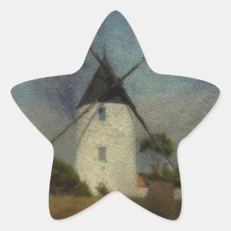 The Windmill Star Stickers
