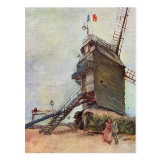 The Windmill - Vincent Van Gogh Postcard