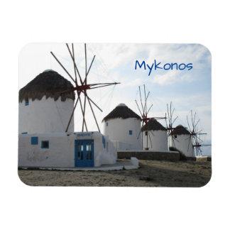 The Windmills, Mykonos, Greece Magnet