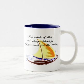The winds of God are always blowing Coffee Mug