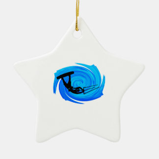 THE WINDS POWER CERAMIC STAR ORNAMENT
