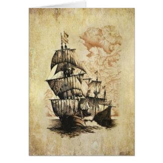 The Windward Passage (Blank Inner) Card