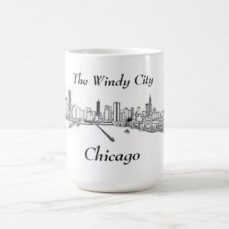 The Windy City Chicago Coffee Mug