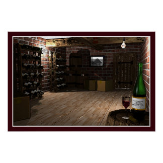 The Wine Cellar (Guest Vineyards) Poster